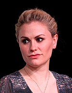 Photo of Anna Paquin in 2012.
