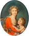Anna Rajecka - Portret damy z dzieckiem.jpg