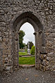 Annaghdown Cathedral Doorway 2010 09 12.jpg