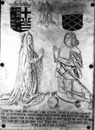 Richard of York, 3rd Duke of York - Image: Anne of York and Sir Thomas St. Leger