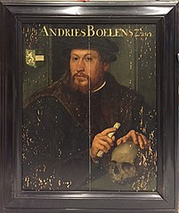Portret van Andries Boelens