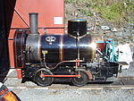 Ant on Great Laxey Mine Railway - 2005-08-20.jpg