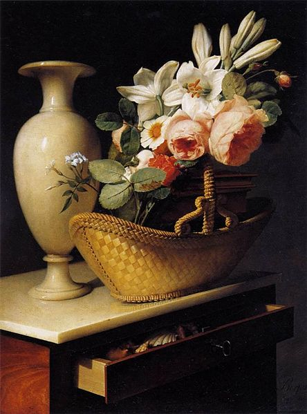 File:Antoine Berjon - Still-Life with a Basket of Flowers - WGA01953.jpg
