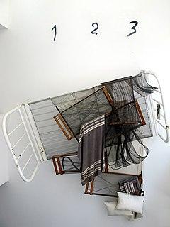 installation byAntoni Tàpies