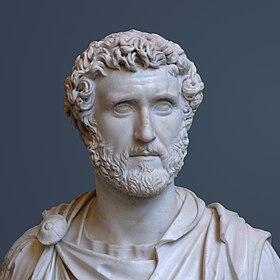 Rome Chrétienne et ses monuments - EUGENE DE LA GOURNERIE - 1867 280px-Antoninus_Pius_Glyptothek_Munich_337_Detail