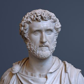 Antoninus Pius - Bust of Antoninus Pius, at Glyptothek, Munich.