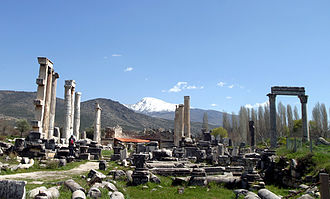 Aphrodisias - The ruins of Aphrodisias