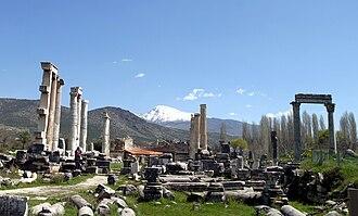 Aphrodisias - The ruins of Aphrodisias