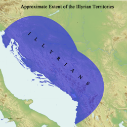 Approximate Extent of the Illyrian Territories (English).png