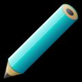 Aqua pencil.png