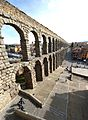 Aqueduct Bridge in Segovia Spain on February 15 2017.jpg