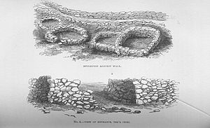 Edward Barnwell -  Stone Hut circles at Tre'r Ceiri. Arch Camb Vol 2 1872 21