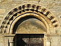 Arch above door, Earl's Croome Church - geograph.org.uk - 1027031.jpg