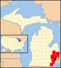 detroit karte Erzbistum Detroit – Wikipedia