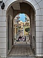 Arched pathway overlooking cafe in The Pearl-Qatar.jpg