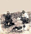 Archivo General de la Nación Argentina sin fecha - mapuches tomando mate en el campo.jpg