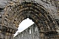 Archway over main west door, St Andrews Cathedral.jpg