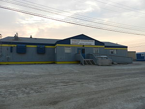 Nunavut Arctic College - One of the Arctic College buildings in Cambridge Bay