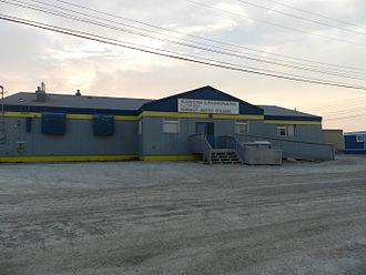 Nunavut Arctic College - One of the Arctic College buildings in Cambridge Bay