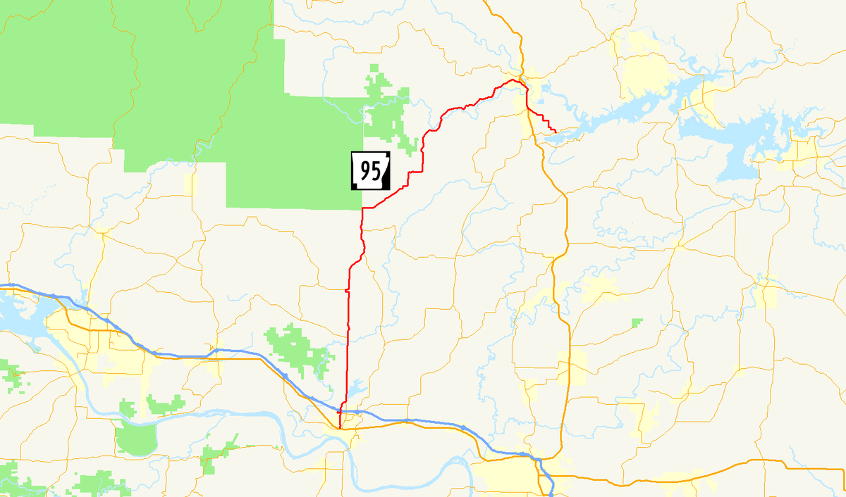 Arkansas Highway 95 - Wikipedia