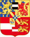 Arms of William Henry, Prince of Orange, Count of Nassau with Veere.png