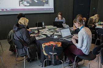 Art and Feminism Editathon at Wakefield 5.jpg