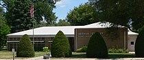 Arthur County, Nebraska courthouse from N 2.JPG