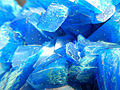 Artificial Crystal of copper(II) sulfate GLAM MHNL 2016 FL b 02.JPG