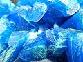 Artificial Crystal of copper(II) sulfate GLAM MHNL 2016 FL b 02.JPG