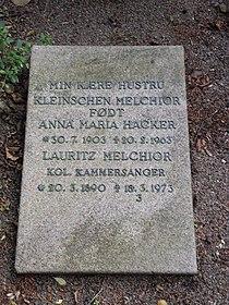 Assistens Kirkegård - Lauritz Melchior.jpg