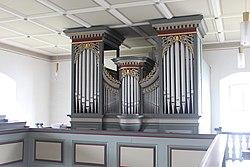 Asslar-Werdorf - ev Kirche - Orgel - Prospekt 5.jpg