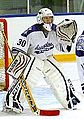 Assumption Purple Raiders white goalie 2014.jpg