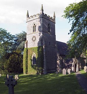 Aston Flamville - The church of St Peter