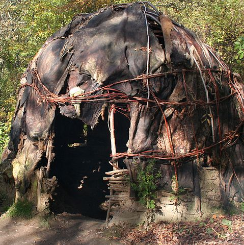 prehistoric house (VIKIDIA) width=