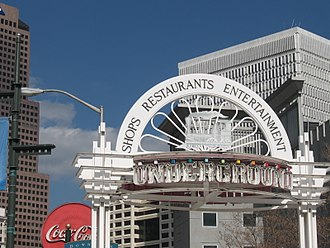 Underground Atlanta - Entrance to Underground Atlanta
