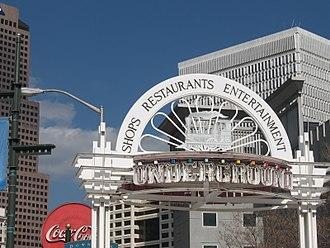 Underground Atlanta - Entrance to Underground Atlanta