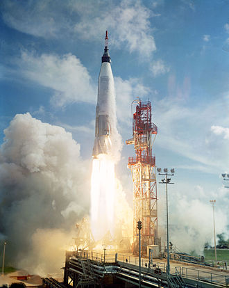 Mercury-Atlas 4 - The launch of Mercury-Atlas 4