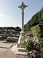 Auberville-la-Campagne (Seine-Mar.) croix de cimetière, recto.jpg