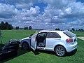 Audi sammelt Driving-Range Bälle auf - panoramio.jpg