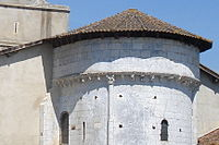 Audignon (Landes,Fr) chevet de l'église.jpg