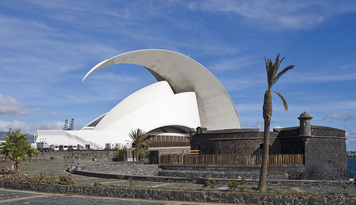 Auditorio de Tenerife - Simple English Wikipedia, the free ...  Auditorio de Te...