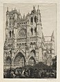 Auguste Louis Lepère - Amiens Cathedral, Inventory Day - 2007.251 - Cleveland Museum of Art.jpg
