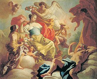 Tithonus (poem) - Image: Aurora Greek Goddess