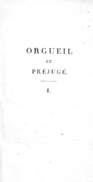 File:Austen - Orgueil et Préjugé (Paschoud) 1.djvu