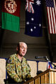 Australian Army Col. Wade Stothart, the incoming commander of Combined Team Uruzgan, delivers remarks during a transfer of authority ceremony Aug. 7, 2013, at Multinational Base Tarin Kowt in Uruzgan province 130807-O-MD709-113-AU.jpg