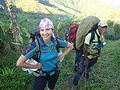 Australian volunteer Laura Davidson worked to boost the profile of the Port Moresby Cancer Relief Society, 2011.jpg
