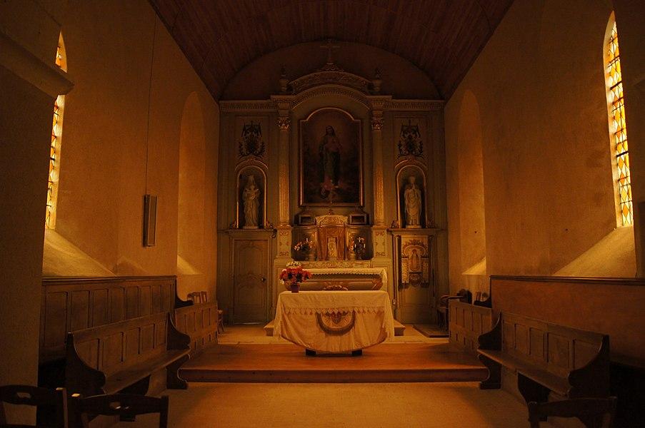 Autel Église de l'Assomption Angoville-sur-Ay