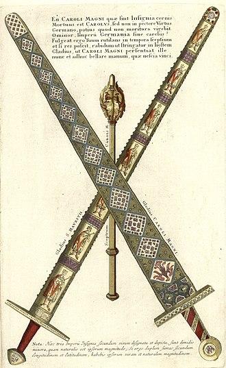 Imperial Sword - Image: Authentica repraesentatio Insignivm Schwerter