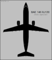 Avro RJ120 top-view silhouette.png