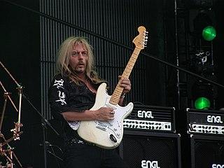 Axel Rudi Pell German heavy metal guitar player